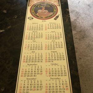 Coca Cola 1976 Calendar
